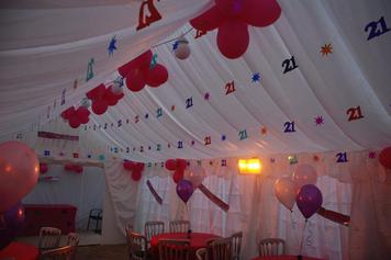 Exquisite Marquees Interior Roof Lining